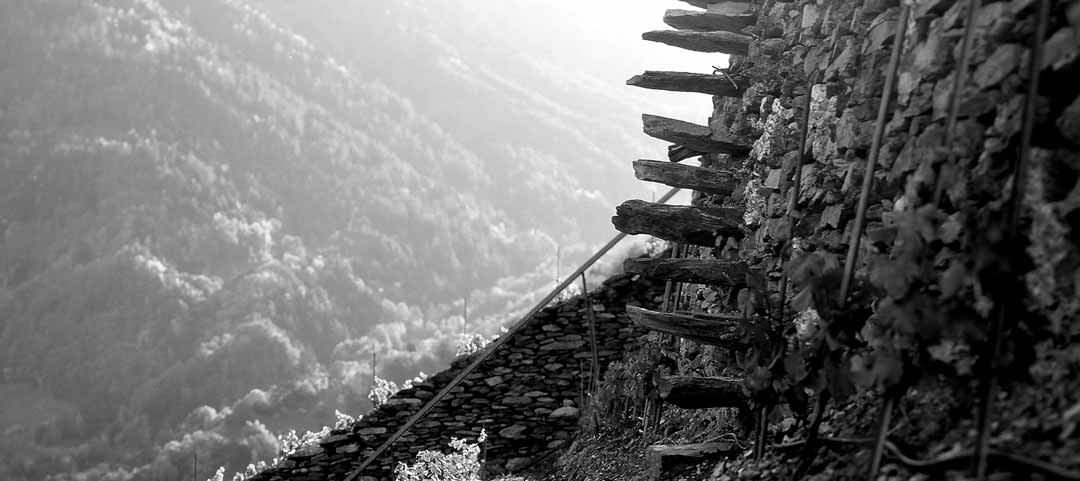 Escalier Grand mur